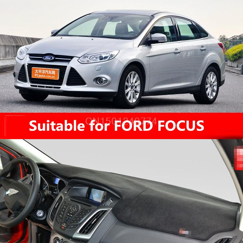 Armaturenbrettabdeckung für Ford Focus 2 Focus 3. MK2 MK3 2004 2008 - Auto-Innenausstattung und Zubehör