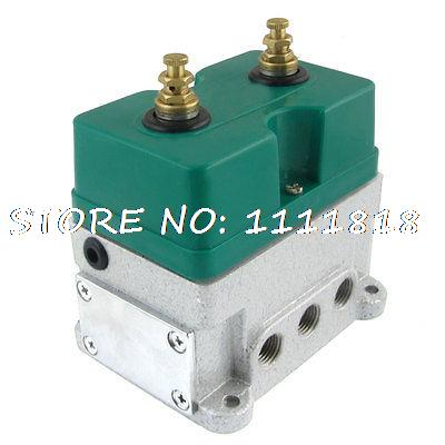8mm 1/4 Bore 2 Position 5 Way Pneumatic Solenoid Valve DC 24V 100mA smc type pneumatic solenoid valve sy5120 3lzd 01