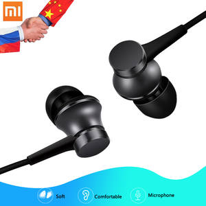 Xiaomi 3.5mm In-ear Piston Earphones Headsets with Mic Music Stereo Mi Earphones