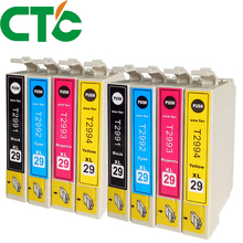CTC 8 Pack T2991 T2992 T2993 Ink Cartridges Compatible for INK XP-235 XP-332 XP-335 X-P432 XP-435 XP-247 XP-442 XP-342 XP-345