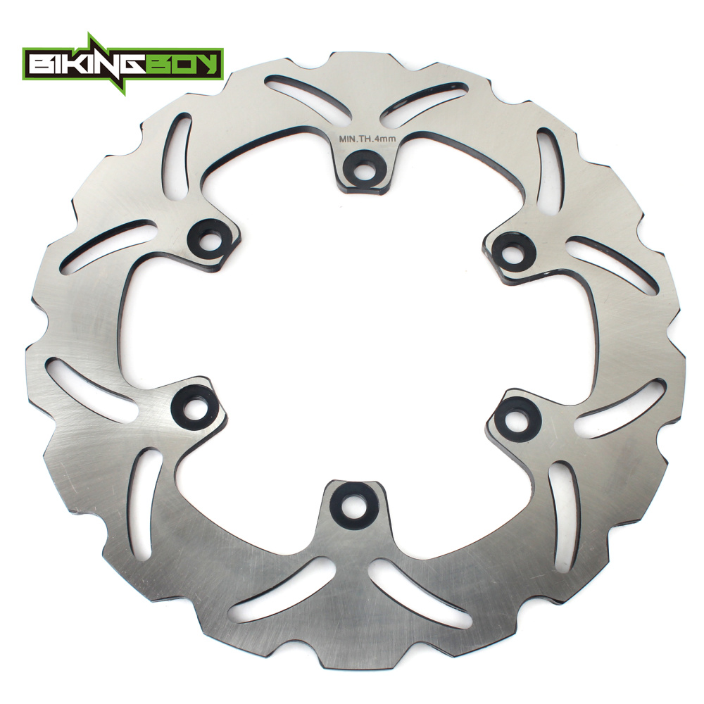 BIKINGBOY Rear Brake Disc Rotor Disk For YAMAHA SRX / XJR 400 FZR 600 /R FZS 600 Fazer XJ 600 N S Diversion YZF 600R Thundercat стоимость