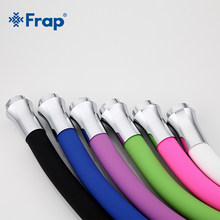 Frap Neue Ankunft Multi-farbe Silikon Rohr Flexible Schlauch Alle Richtung für Küche Wasserhahn 6 Farben Erhältlich F7250