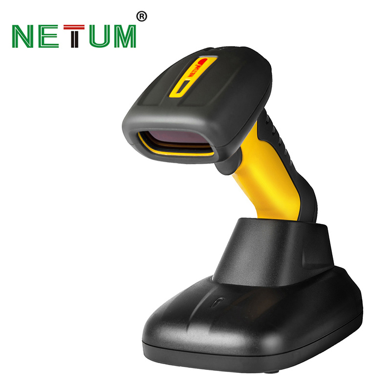 NT-1209 Handheld Wireless Barcode Scanner Industrial IP67 Waterproof 32bit Bar Code Scanner for POS System wireless data collector handheld barcode reader scanner laser bar code real time pos terminal nt c6