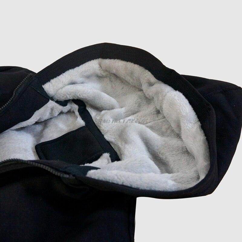 Garder Black gray Capuche Chaud Hommes Vtt Épaissir Veste Pour La Streetwear Au Vie Shirts De Sweat Top À Mode Hoodies Bonne fvwnHARxqP