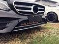 1 шт. ABS Передняя Центральная Полоса Крышка Накладка Для Mercedes-Benz E-класса W213 Sport Sedan 2016 2017