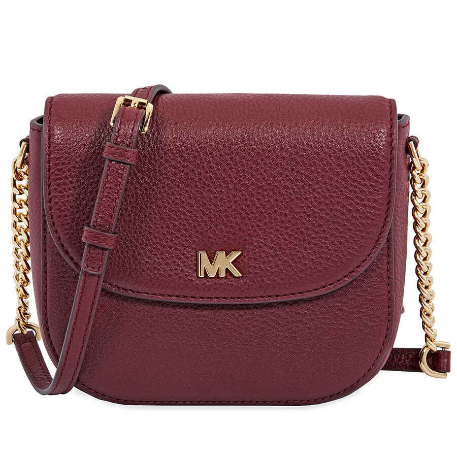 ... Michael Kors Half Dome Leather Crossbody Luxury Handbags For Women Bags  Designer by Michael Kors ...