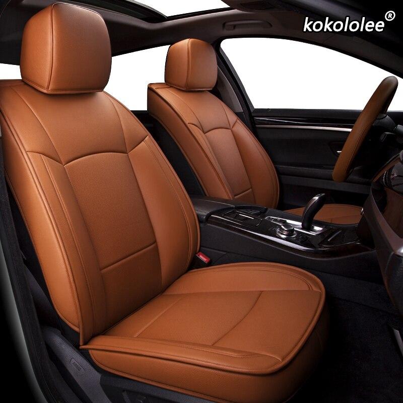 Housses de siège de voiture en cuir sur mesure kokolololee pour CHANGAN CS35 CS75 CS15 CS95 CS55 Benben EV MINI LOVE Yuexiang V3 V5 V7 CX20
