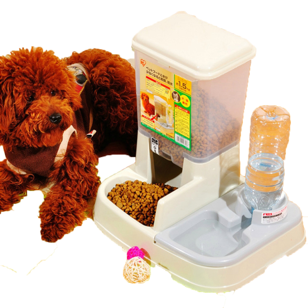 home automatic in fountains pet on dogs feeders com animal garden feeder for dog feeding item drinking cat aliexpress from bowl