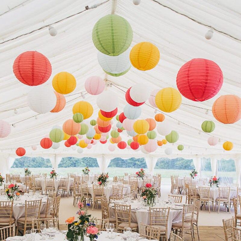 10 35cm China Paper Lantern Festival Supplies Lanterns Wedding