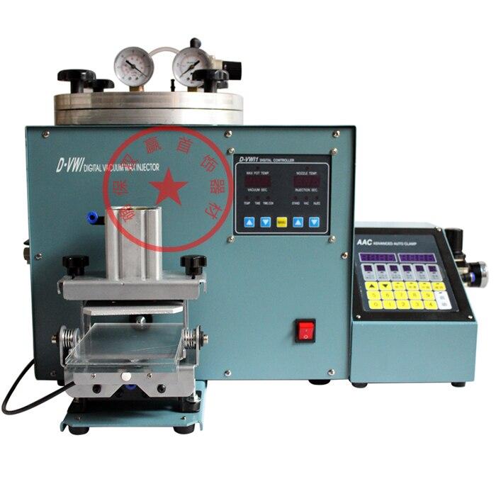 Inyector de cera de joyería Digital + abrazadera y controlador automático avanzado herramienta y equipo de fabricación de joyas