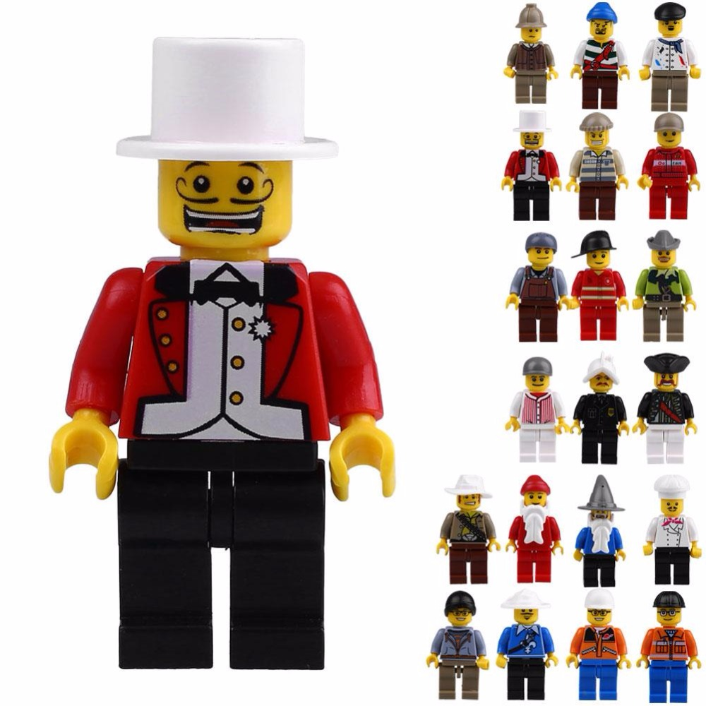 building jobs promotion shop for promotional building jobs on 20 pcs jobs role play kids baby toy mini figure building block set model toys minifigures brick learning education toy