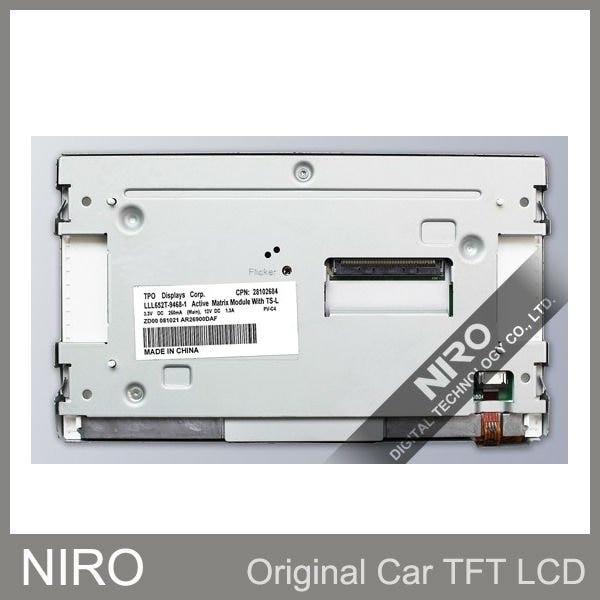 Niro DHL/EMS Новые оригинальные A+ Автомобильные TFT ЖК-мониторы TPO LLL652T-9468-1 и сенсорный экран