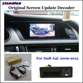 HD Reverse Reversing Parking Camera For Audi A4 A4L (Low) Rear View Rearview Backup Camera Decoder Accessories Alarm System car rear view rearview backup camera for audi a1 8x 2010 2018 reverse reversing parking camera full hd ccd decoder accesories