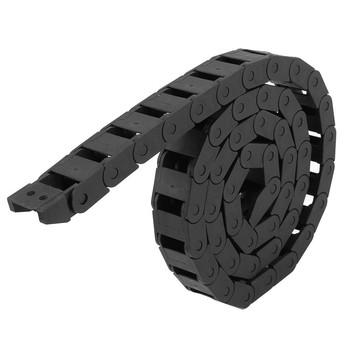 10x20mm 10*20mm L1000mm kabel przenośnik łańcuchowy z złącza wtykowe do narzędzi CNC ploter tanie i dobre opinie thinkingleader Leaf chain Standardowy 10 x 20mm Z tworzywa sztucznego