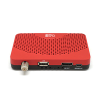 Mini Size HD 1080P DVB S2 Digital Satellite Receiver IPTV Receiver TV Tuner Decoder FTA Youtube