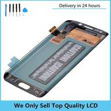 Original For SAMSUNG GALAXY S6 EDGE G925F G925A G925T G925V LCD Display Touch Screen Digitizer Assembly for Samsung S6 Edge