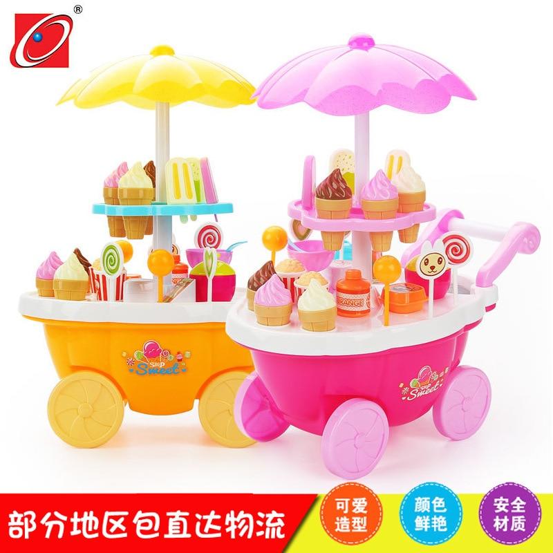 Кухонные Игрушки, dim sum, игрушечные тележки, детские игрушки