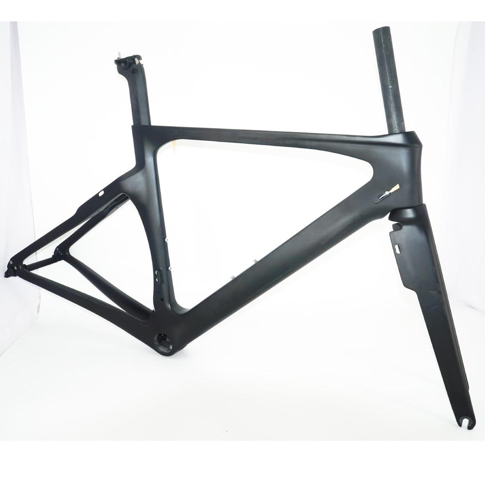 Normal Caliper Aero Road Frame Carbon Fiber Road Bike Frame Aero