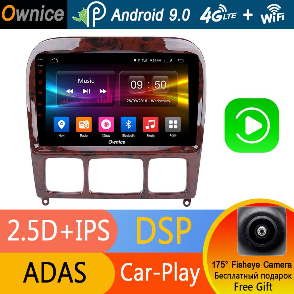 Android 9 0 IPS 9 4G 32G for Mercedes Benz S280 S320 S350 S400 S500 W220