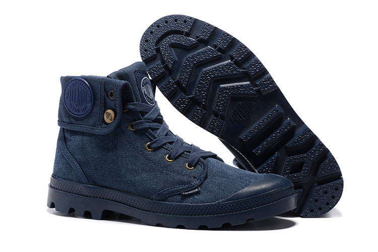 Palladium Style Shoes For Women & Men PU Leather Lace Up Flats Heels Waterproof Dark Blue Military Ankle boots hiking boots serene men oxfords shoes british style lace up shoes waterproof low ankle boots leisure men flat shoes comfortable flats 6215