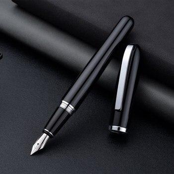 Baoer, bolígrafos de lujo para oficina, regalo de negocios, Pluma de tinta Pluma Estilogr Fica, calidad fina, pennen de lujo, conjunto de plumas para escr
