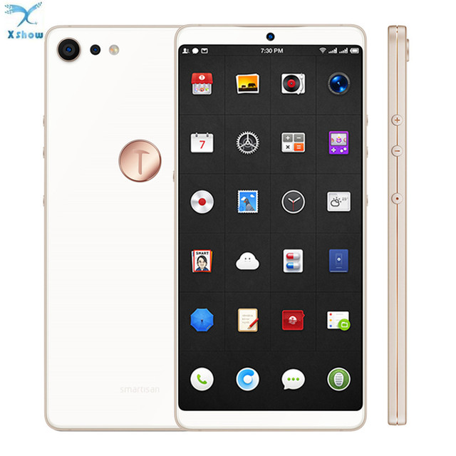 100% Original Smartisan U3 Pro JianGuo Nut Pro 2 16MP Snapdragon 660 Quick Charge Fingerprint 6GB RAM 64GB ROM Freeshipping
