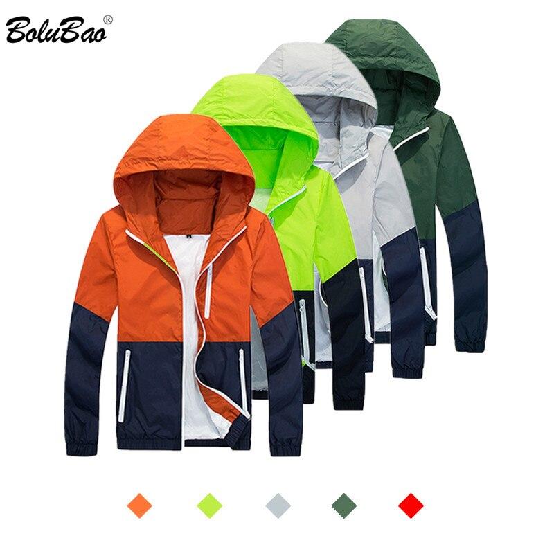BOLUBAO Fashion Brand Men's Jacket 2019 Autumn Men Casual Stand Jackets Windbreaker Coats Male Fashion Jackets Outerwear Coat