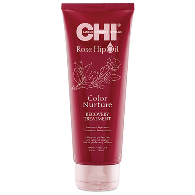Маска CHI для волос масло дикой розы питание цвета COLOR NURTURE 237 мл