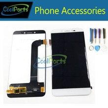 1 шт./лот для Prestigio Grace Z5 PSP5530 Duo PSP5530DUO 5.3 дюйма ЖК-дисплей Дисплей + Сенсорный экран планшета и инструмент черный, белый цвет золото Цвет