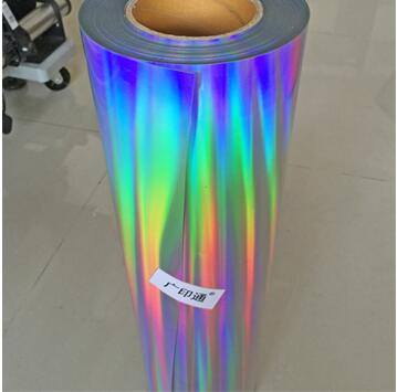 1 piece 25cmx50cm Laser Hologram Rainbow Heat Transfer Vinyl Tshirt Iron On HTV Film|Decorative Films| |  - title=