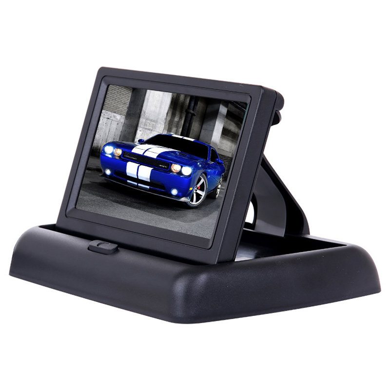 TFT LCD Display 480 x 272 Definition Digital Panel Color Car Rear View Monitor For Rear