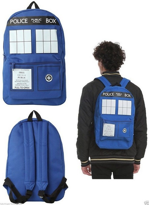 Doctor Who backpack-005