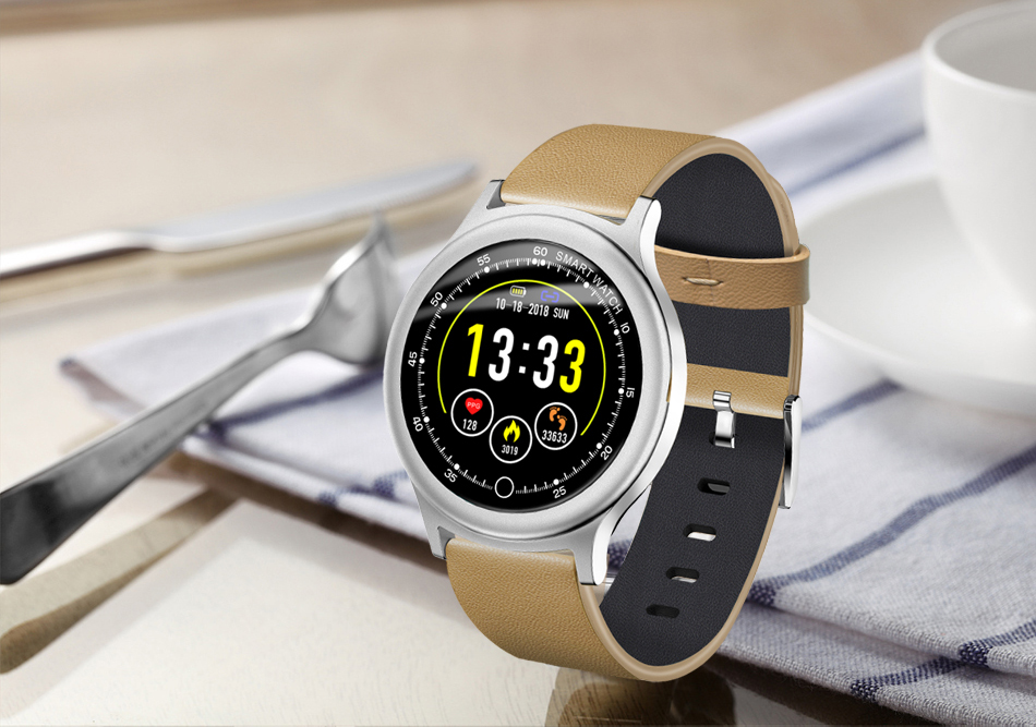 Q28 Smart Watch IP67 Waterproof Wearable Device Bluetooth Pedometer Heart Rate Monitor Men Fashion SmartWatch For AndroidIOS (17)