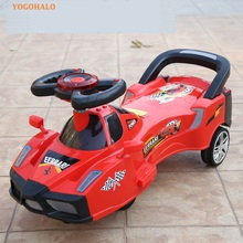 2017 New Children Toy Twist Car Toddler Scooter New Stroller Robot Section With Music
