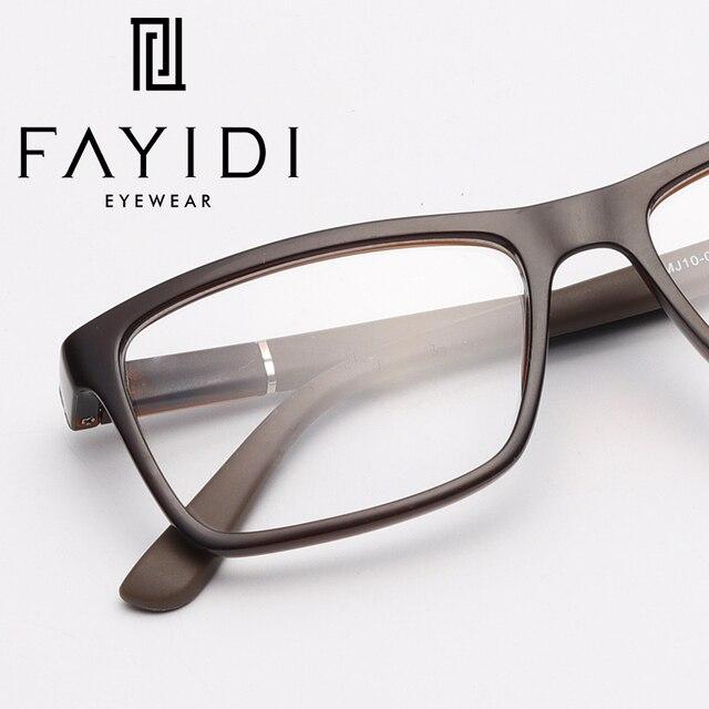 607b2921a5f TR90 Eye Glasses Frame Men Clear Computer Optical Myopia Brand Designer  Square Trendy Spectacle Frame
