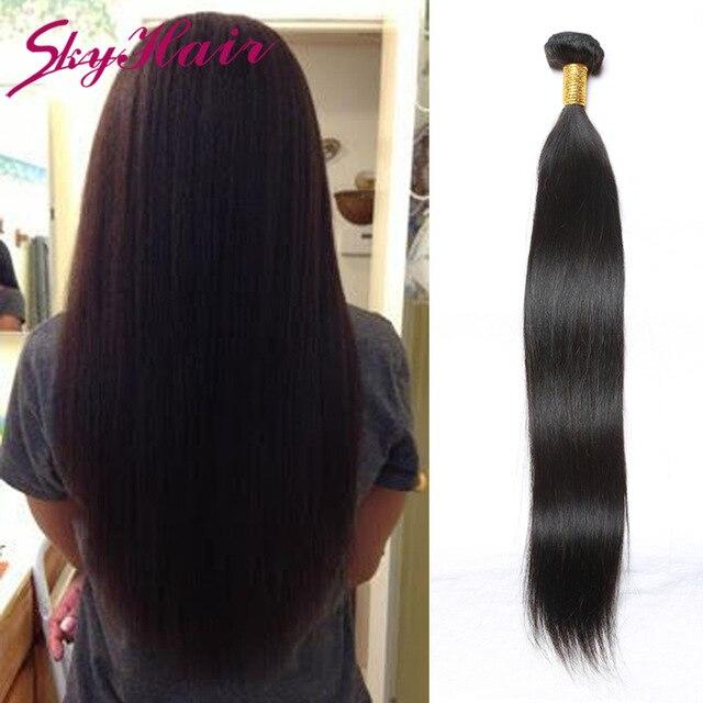 Aliexpress Buy Peruvian Virgin Hair Straight 1pc Lot 7a