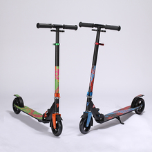Aluminum Alloy 2 Wheel Scooters For Adults Kids Folding Portable Mini Bicycle Kick Scooter Height Adjustable trottinette scooter