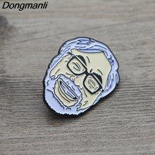 L3178 hayao miyazaki металлическая Глянцевая броши на булавке