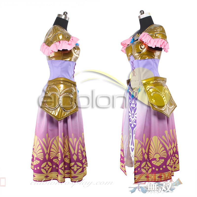 Custom Made The Legend Of  Zelda Princess zelda cosplay Costume Dress