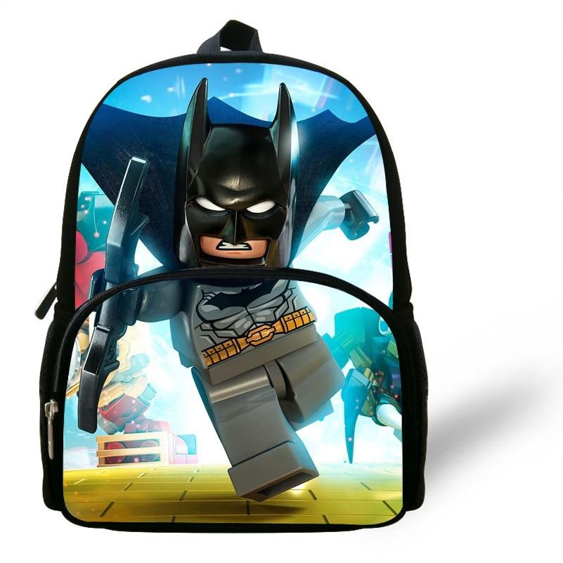 Batman Backpack Dc Comics School Preschool Daycare Bag Boys Super Heros New Kids' Clothing, Shoes & Accs