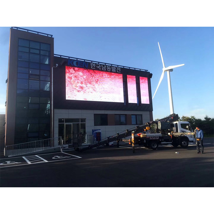 Light Weight 576x576mm Outdoor P6mm Rental Led Display Screen Waterproof Advertising LED Billboard Die Casting Aluminum Panel