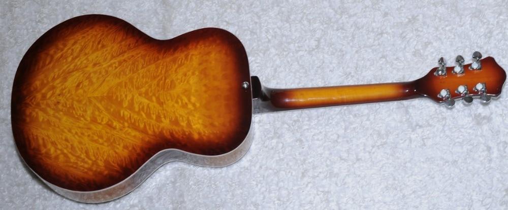Verwonderend Vintage Sunburst Hofner Dobro Resonator Staal Gitaar Chrome OY-64