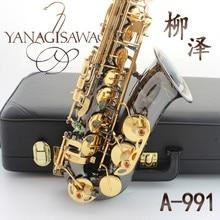 Japan Yanagisawa YANAGISAWA new A-991 E Alto Saxophone instrument drop / wind / tube black nickel gold Sax