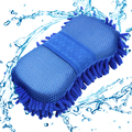 Ultrafine Fiber Chenille Anthozoan Car Wash Gloves Microfiber Car Motorcycle Van Truck Washer Supplies Auto Care Brushes New