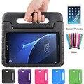 Для Samsung Galaxy Tab A 10.1 2016 T580 T585 Case дети Безопасный Eva Пены нетоксическо Ручка Ударопрочный Падение Устойчивостью Планшет крышка