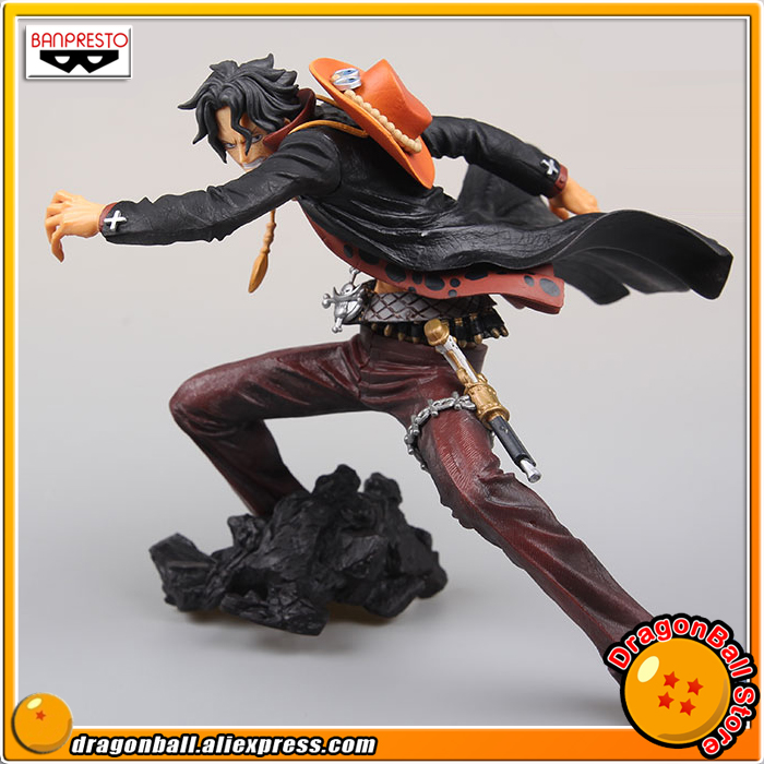 Japan Anime ONE PIECE Original Banpresto Zoukei Monogatari Collection Figure - PORTGAS.D.ACE (Special Color Ver.) anime cartoon monogatari nisemonogatari