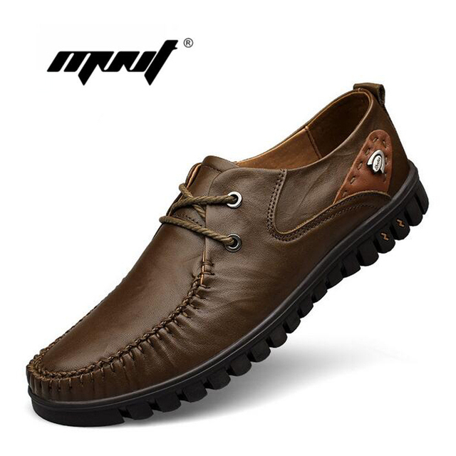 Full Grain Leather Shoes Men, Handmade Men Flats,Lace Up Men Moccasins,Plus Size Design Men Loafers Zapatos Hombre