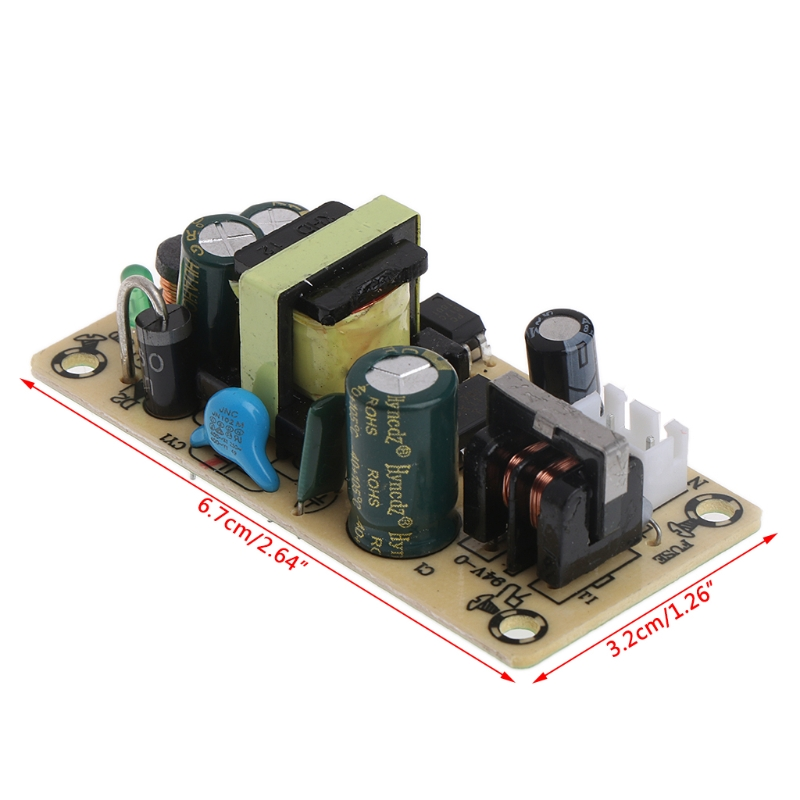 AC 100-265V to DC 5V 2A Switching Power Supply Module TL431 For Replace Repair ac dc 12v 2a 24w switching power supply module bare circuit 100 240v to 12v board for replace repair