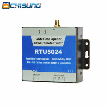 RTU5024 GSM Gate Opener Relay Switch Remote Access Control Wireless Door Opener By Free Call gsm single opener for swing garage sliding gate motor wireless door opener remote switching gate opener