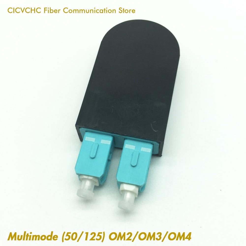 5 pcs SC/UPC Duplex Multimode (50/125) OM2, OM3 or OM4 / Fiber Loopback Module